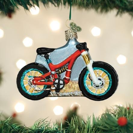 Old World Christmas Mountain Bike Ornament