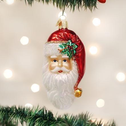 Old World Christmas Nostalgic Santa Ornament