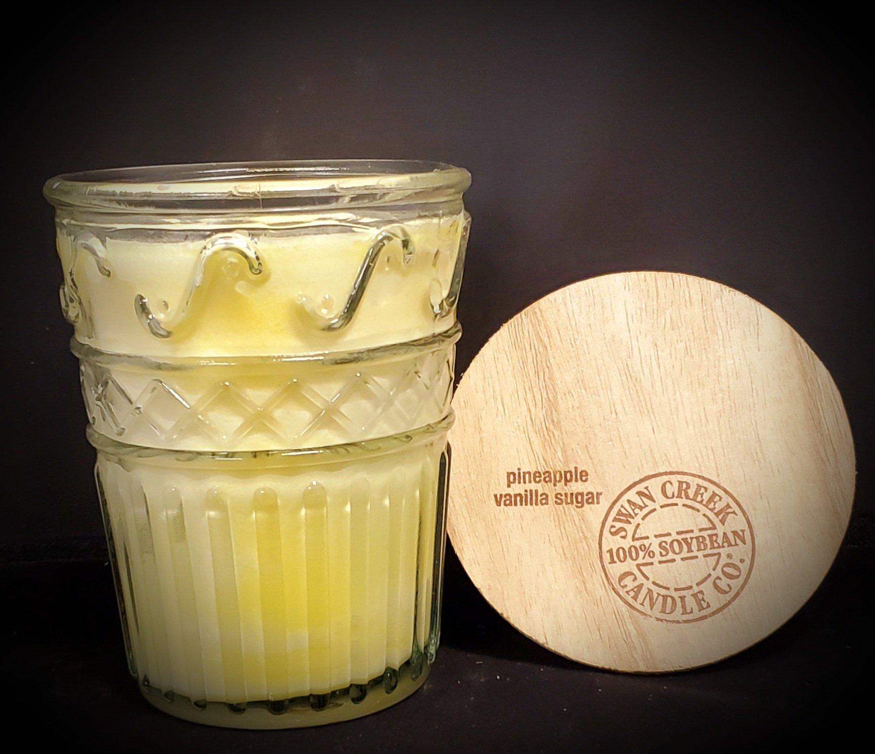 Swan Creek Candles Timeless Jar - Pineapple vanilla sugar