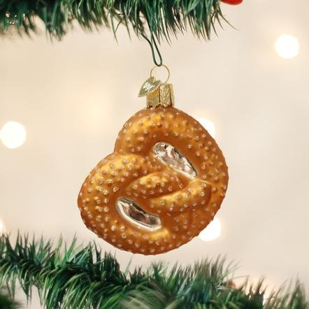 Old World Christmas Pretzel Ornament