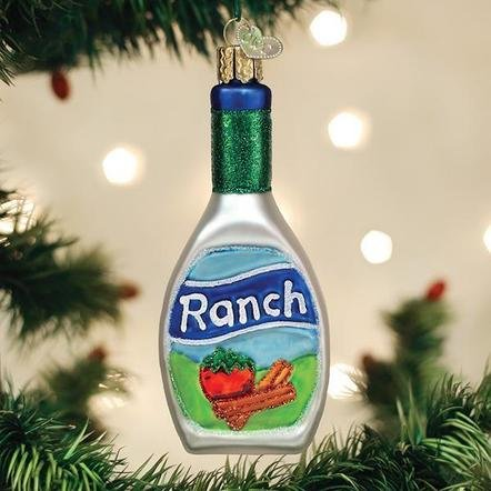 Old World Christmas Ranch Dressing Ornament