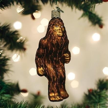 Old World Christmas Sasquatch Ornament