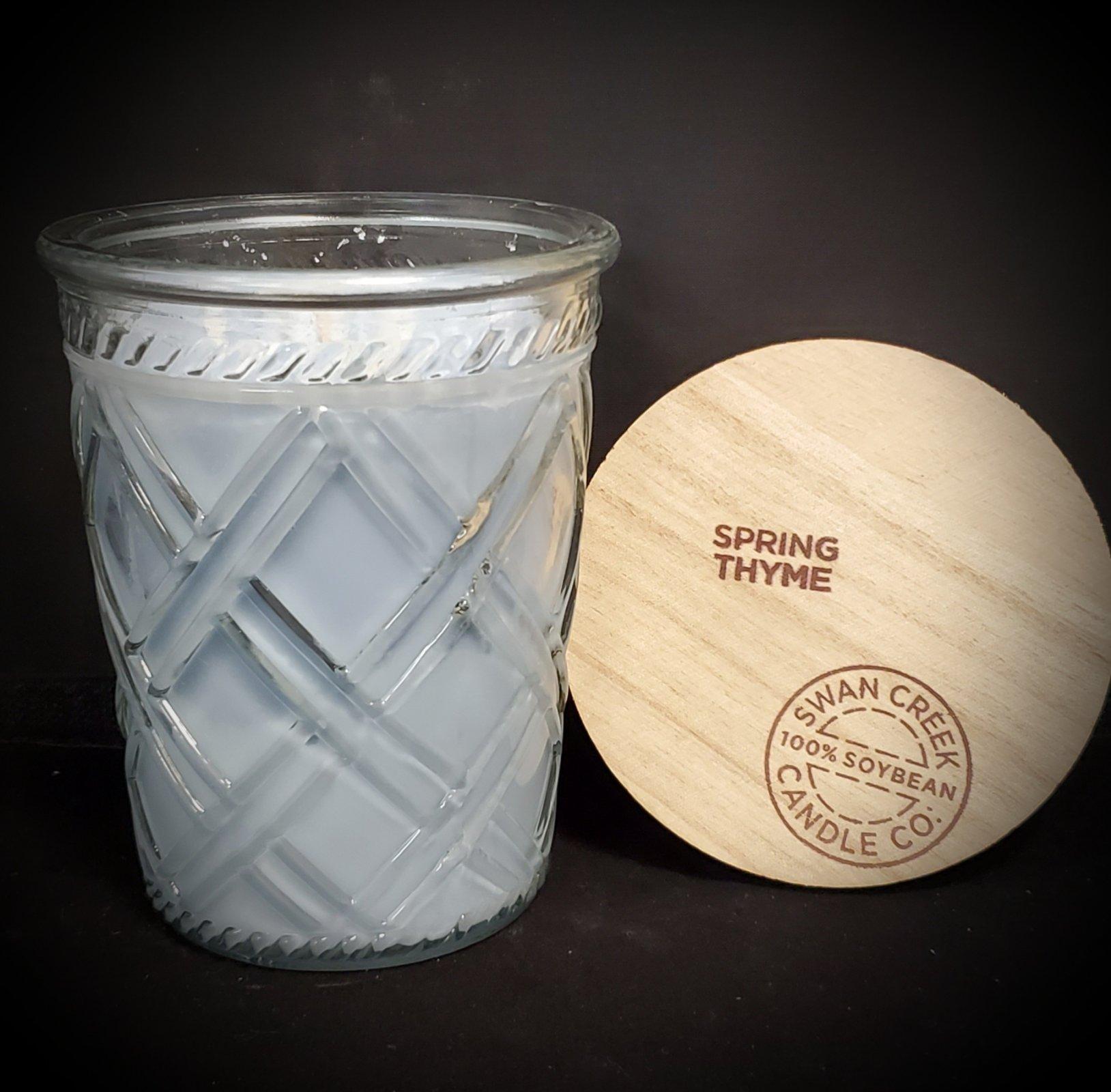 Swan Creek Candles Timeless Jar - Spring Thyme