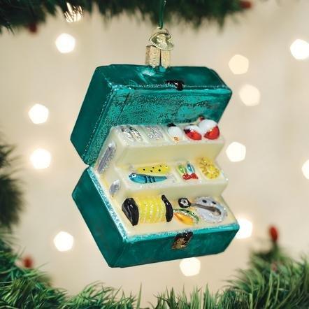 Old World Christmas Fishing Tackle Box Ornament