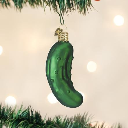 Old World Christmas The Pickle Ornament