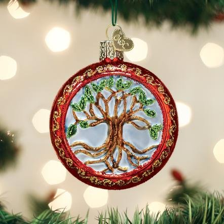 Old World Christmas Tree of Life Ornament