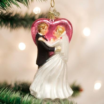 Old World Christmas Wedding Dancers Ornament