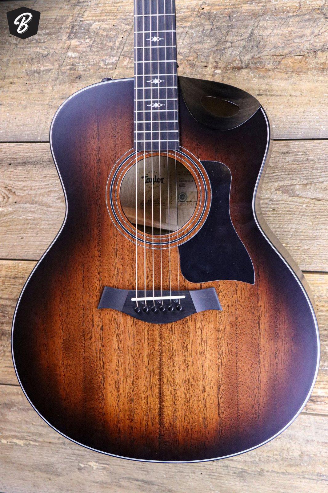 Taylor 326ce Urban Ash Grand Symphony Acoustic Electric - Shaded Edgeburst