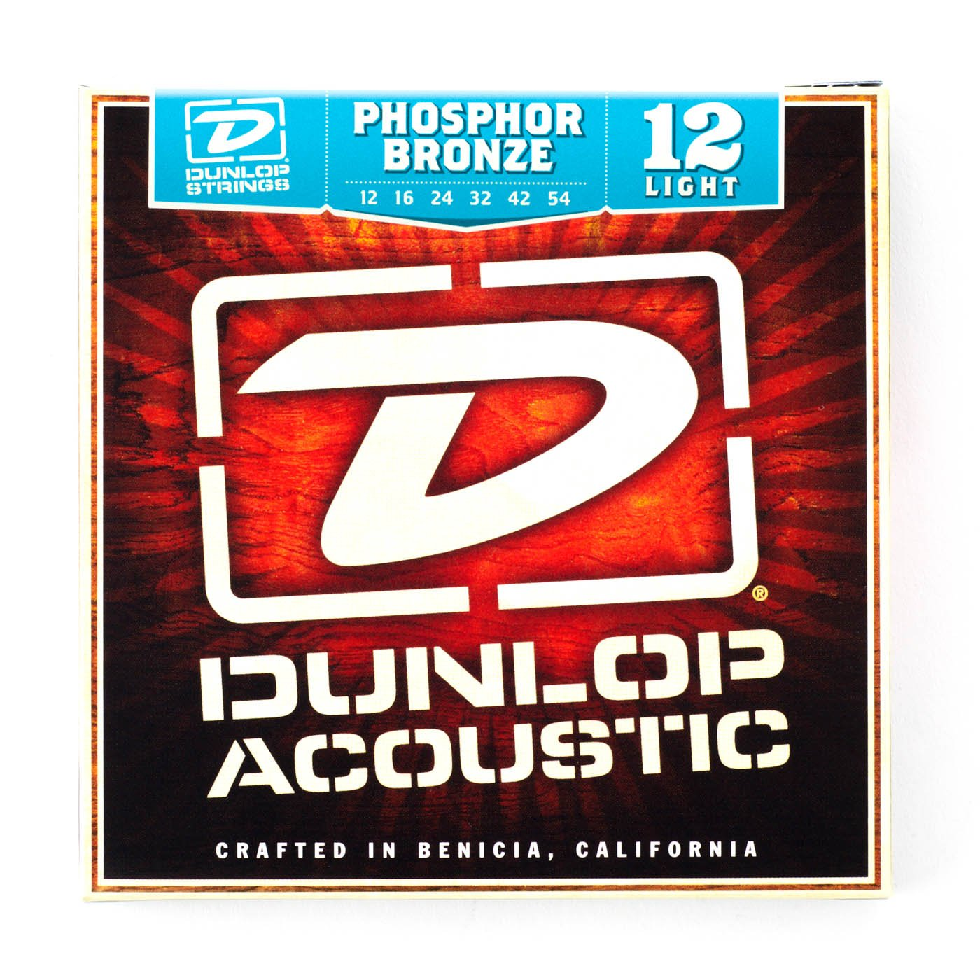 Dunlop 12/54 Phospher Bronze Acoustic Strings -Light