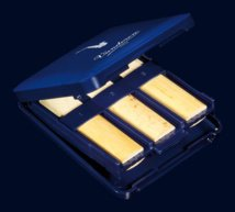 Vandoren VRC620 Reed Case/ Alto Saxophone- Holds 6 Reeds