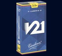Vandoren #3 V21 Clarinet Reeds  Box of 10