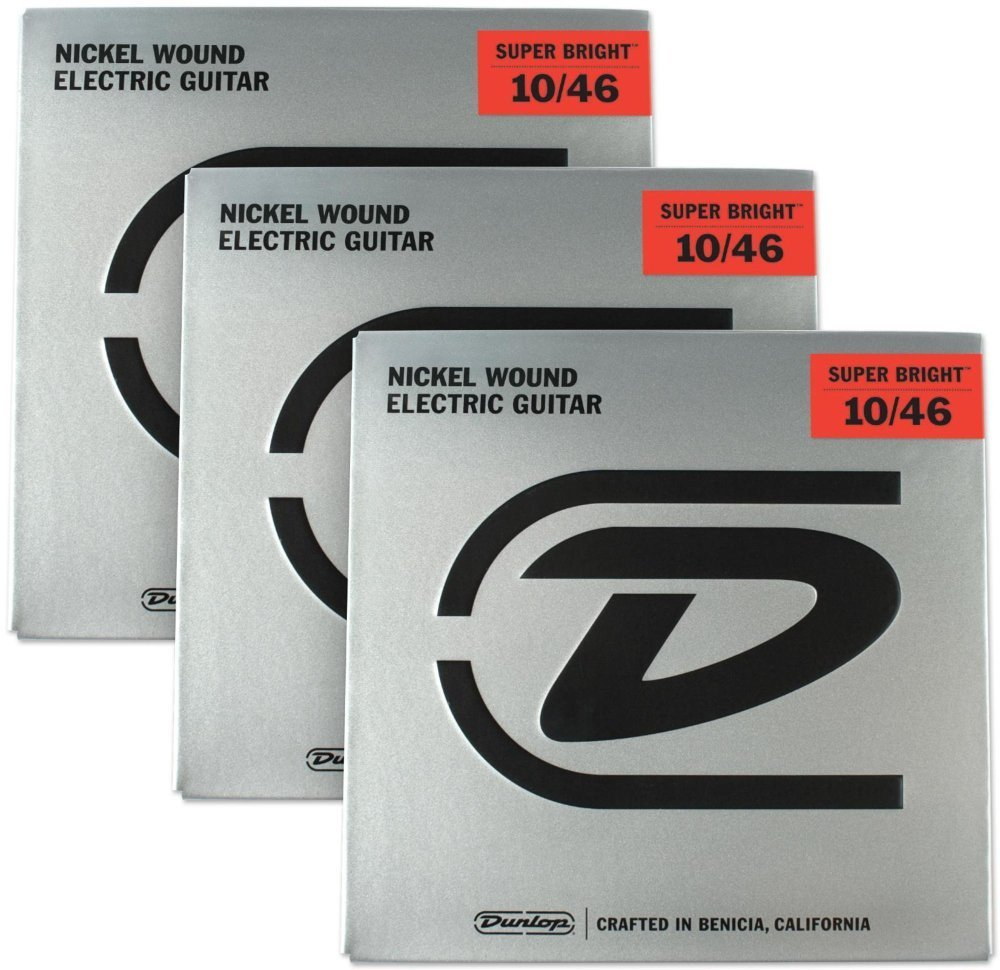 Dunlop Nickel Wound Electric Guitar Strings 10/46