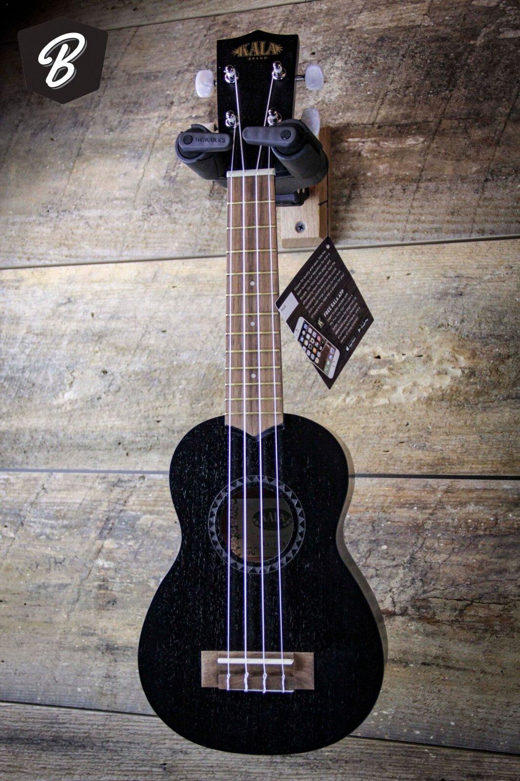 Kala KA-15S-BLK Soprano Ukulele Black