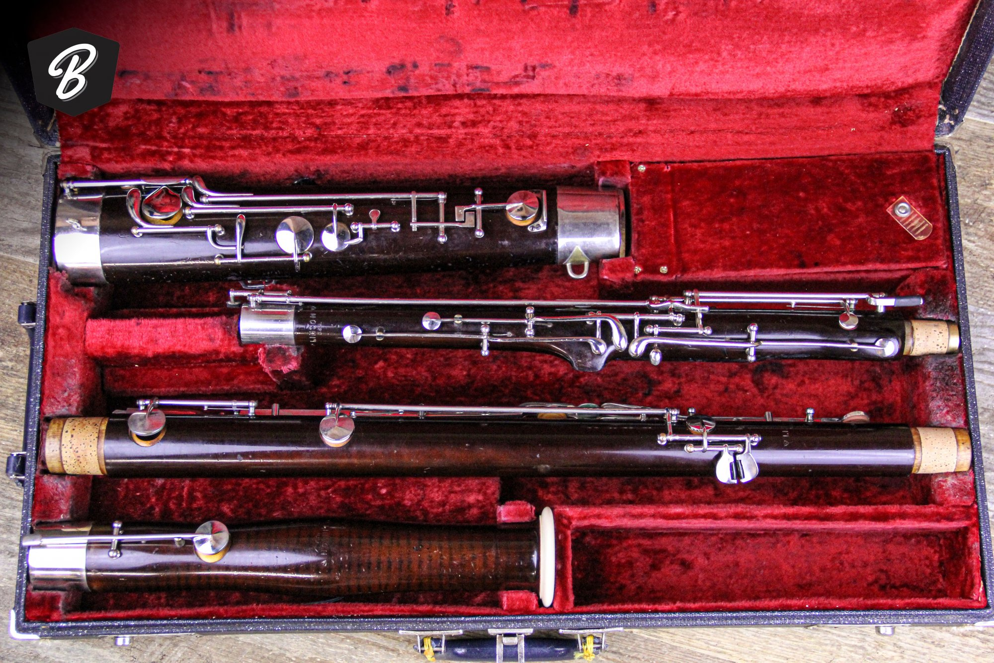 Linton USA Bassoon w/Case