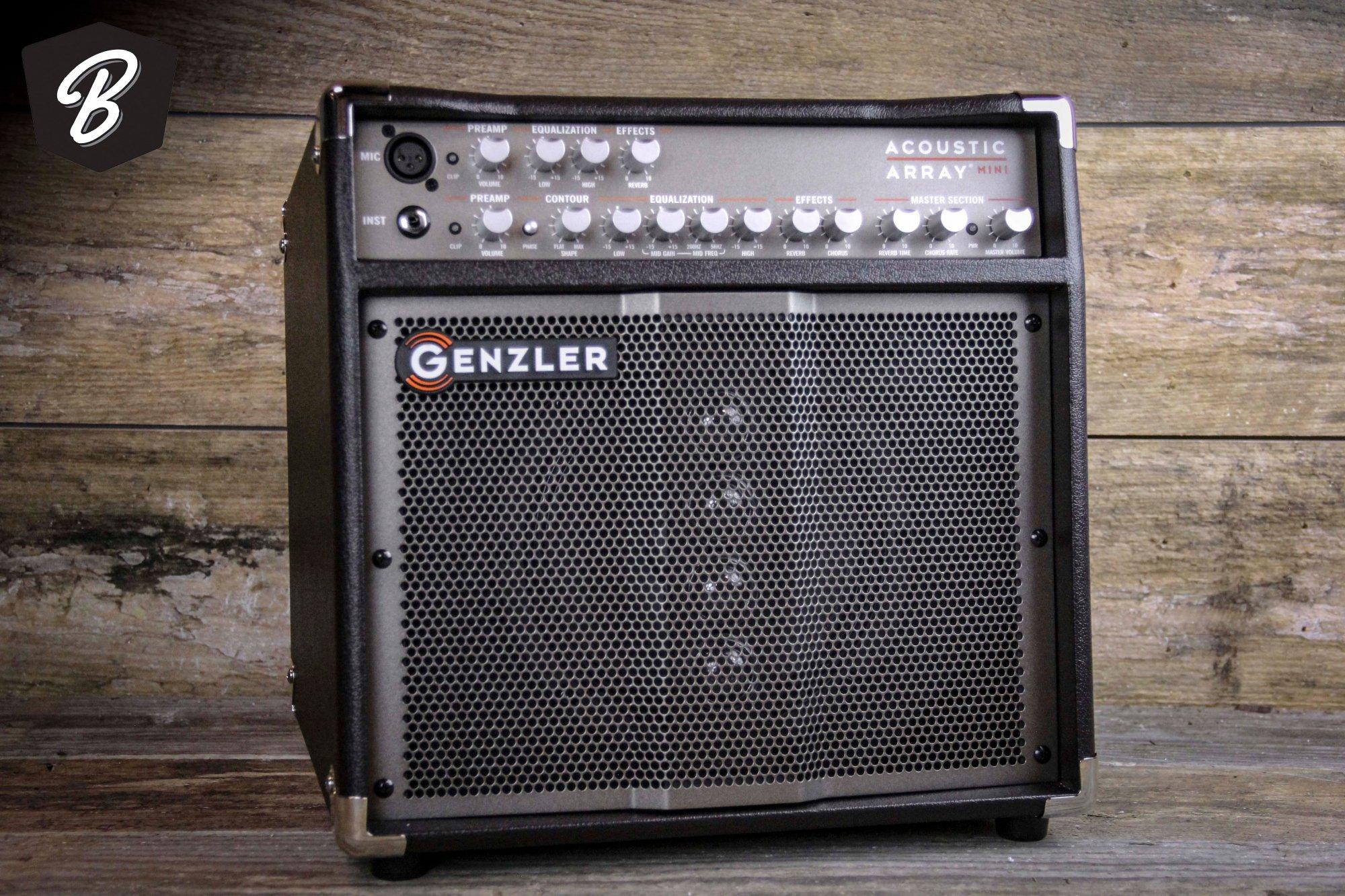 Genzler Amplification Acoustic Array Mini Compact Acoustic Guitar Combo Amp