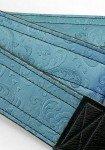 Couch Blue Steel Vintage Floral Guitar Strap