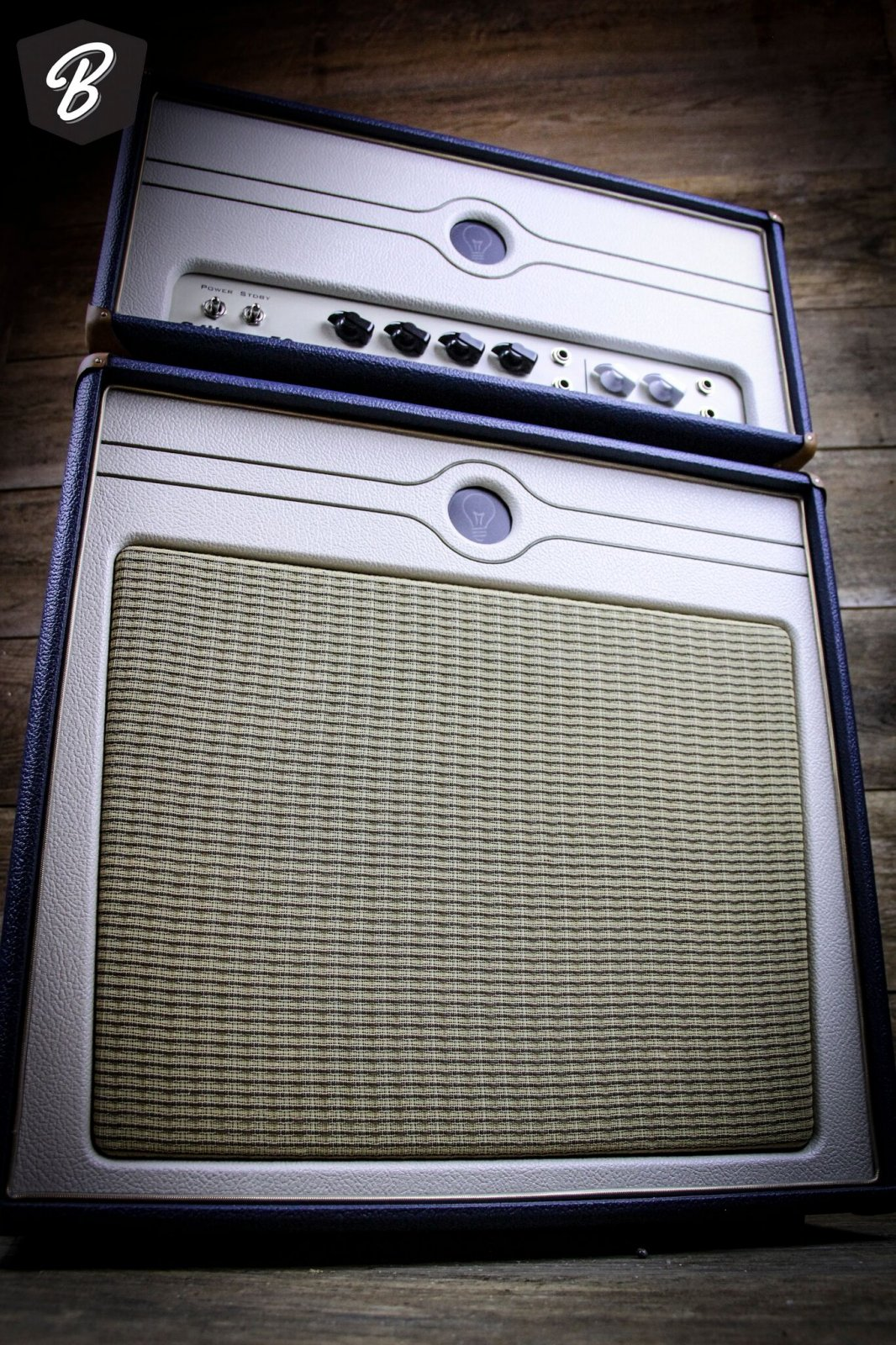 Creation Music Company Milano 50 Head and Cab in The Captain