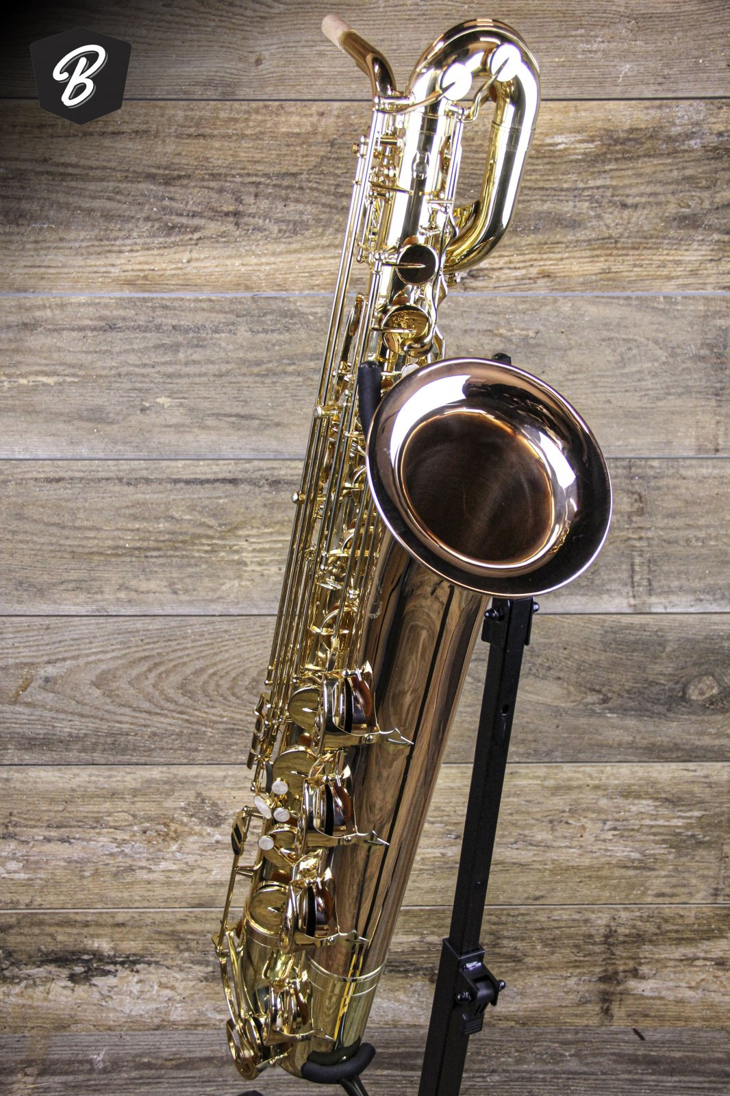 JP044 Bari Saxophone W/Roller Case