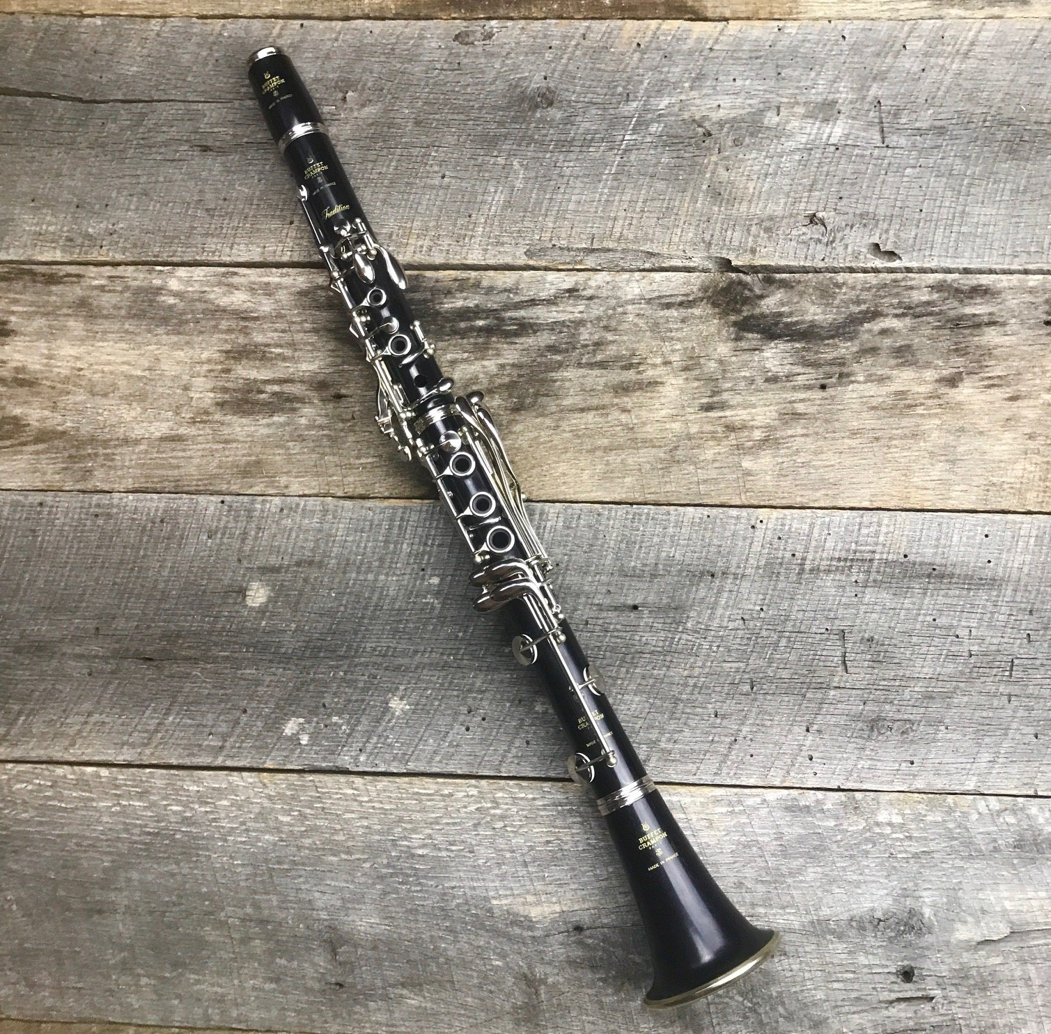 Buffet Tradition BC1116L-5 Clarinet w/Nickel Keys