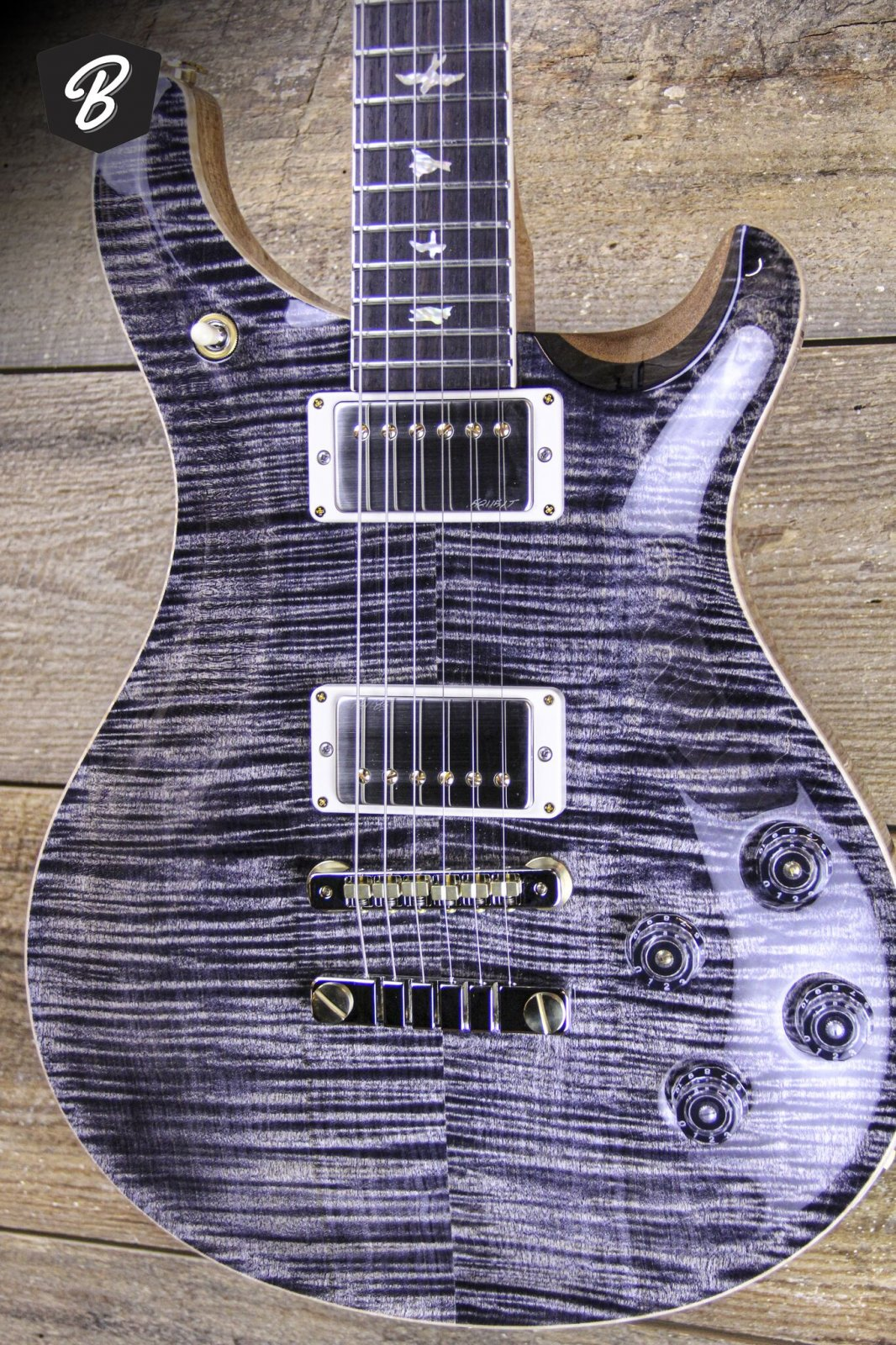PRS McCarty 594 in Charcoal Hybrid Package 10 Top