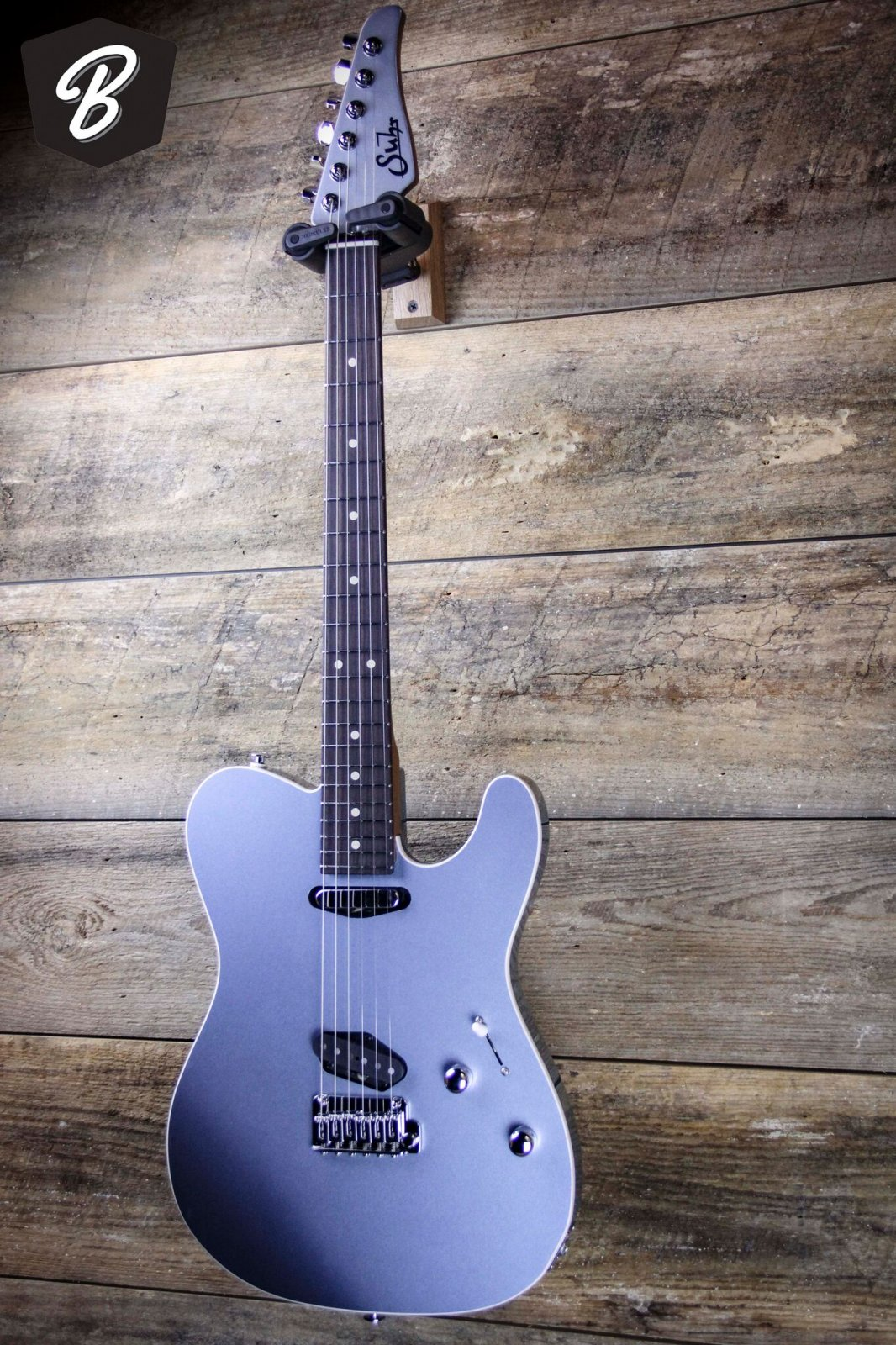 suhr custom classic t guitar roasted neck w white binding and hardshell case 93094890005. Black Bedroom Furniture Sets. Home Design Ideas