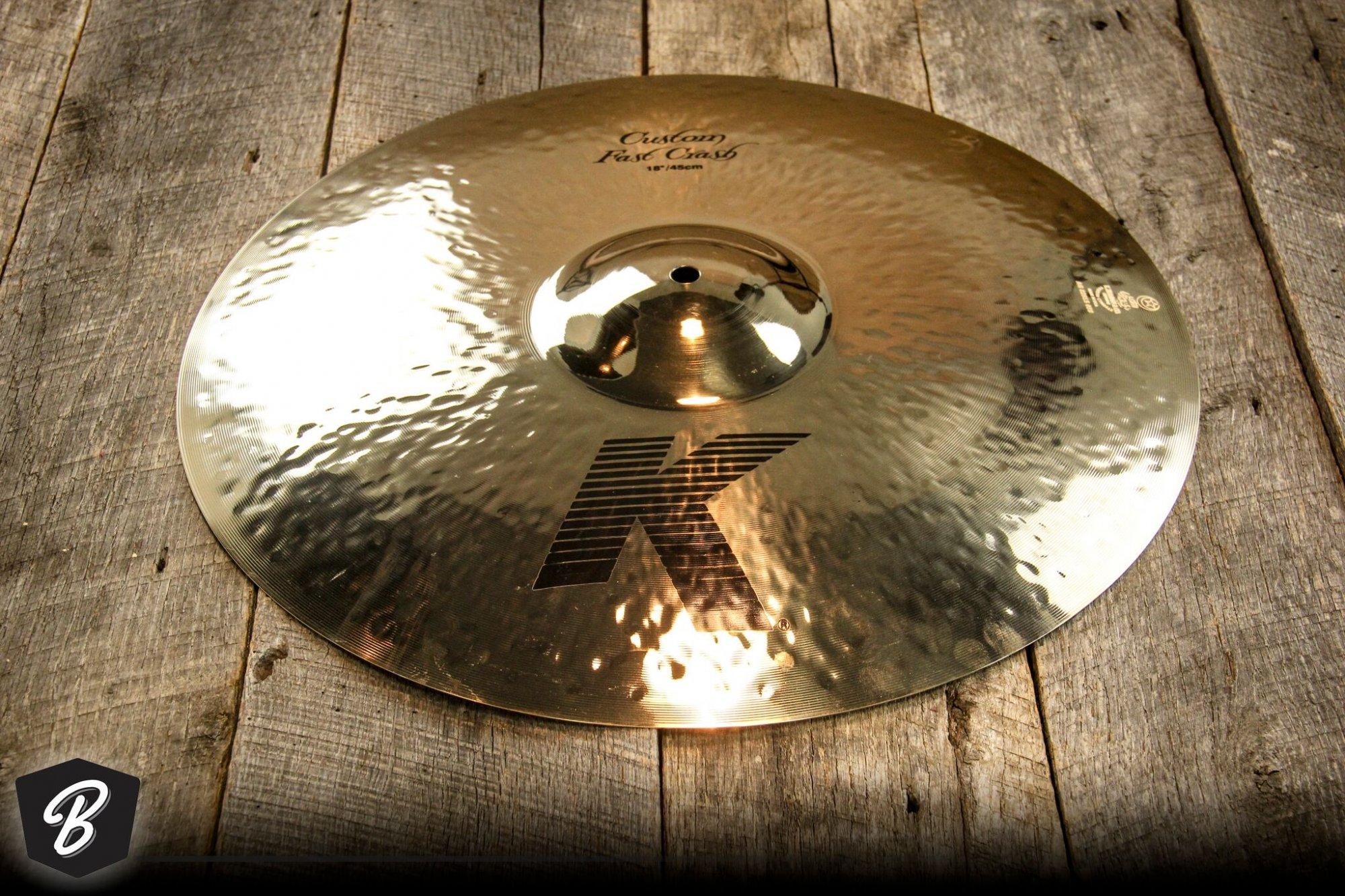 Zildjian K Custom 16 Fast Crash Cymbal