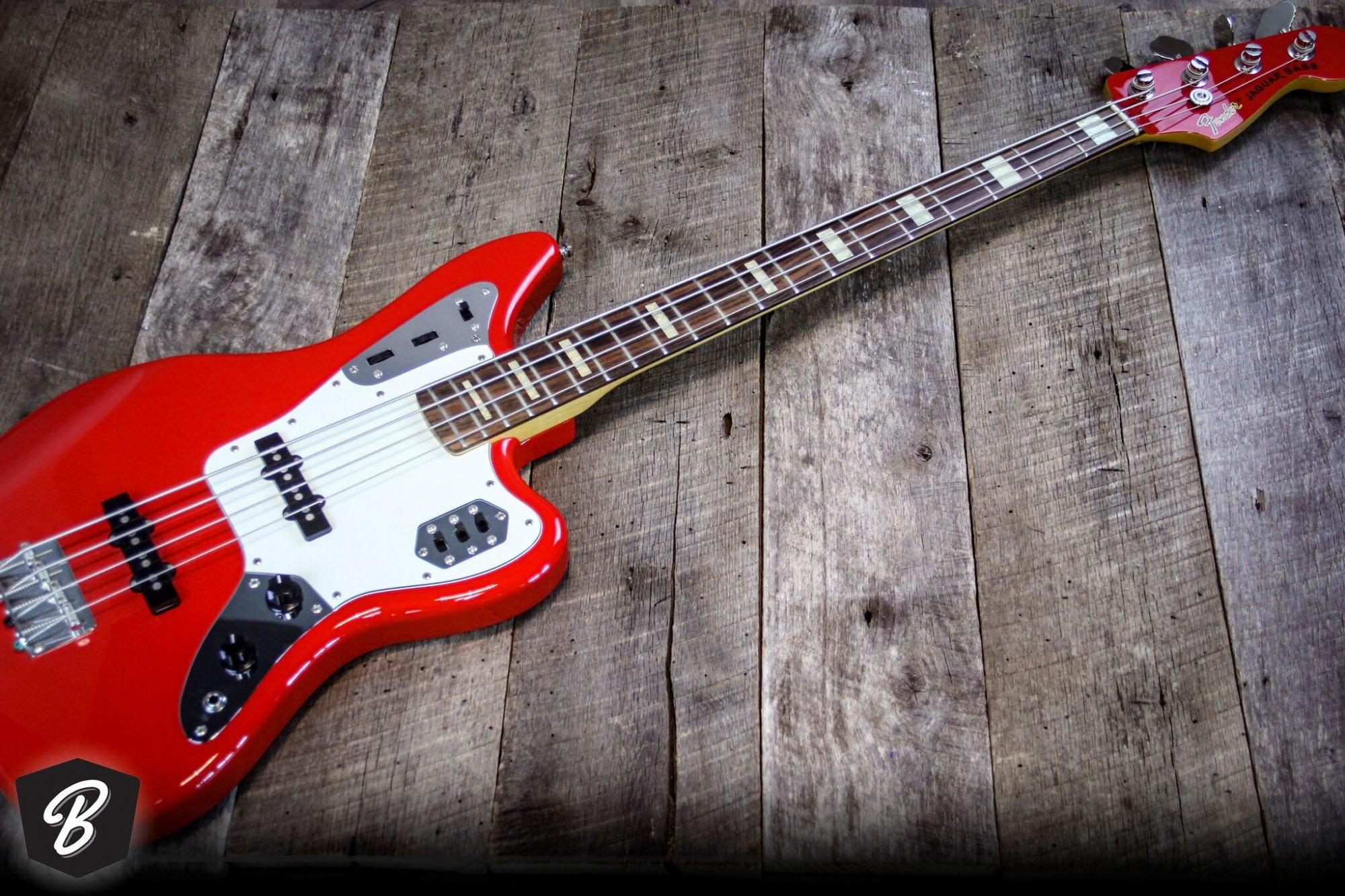 Fender Jaguar Bass Guitar