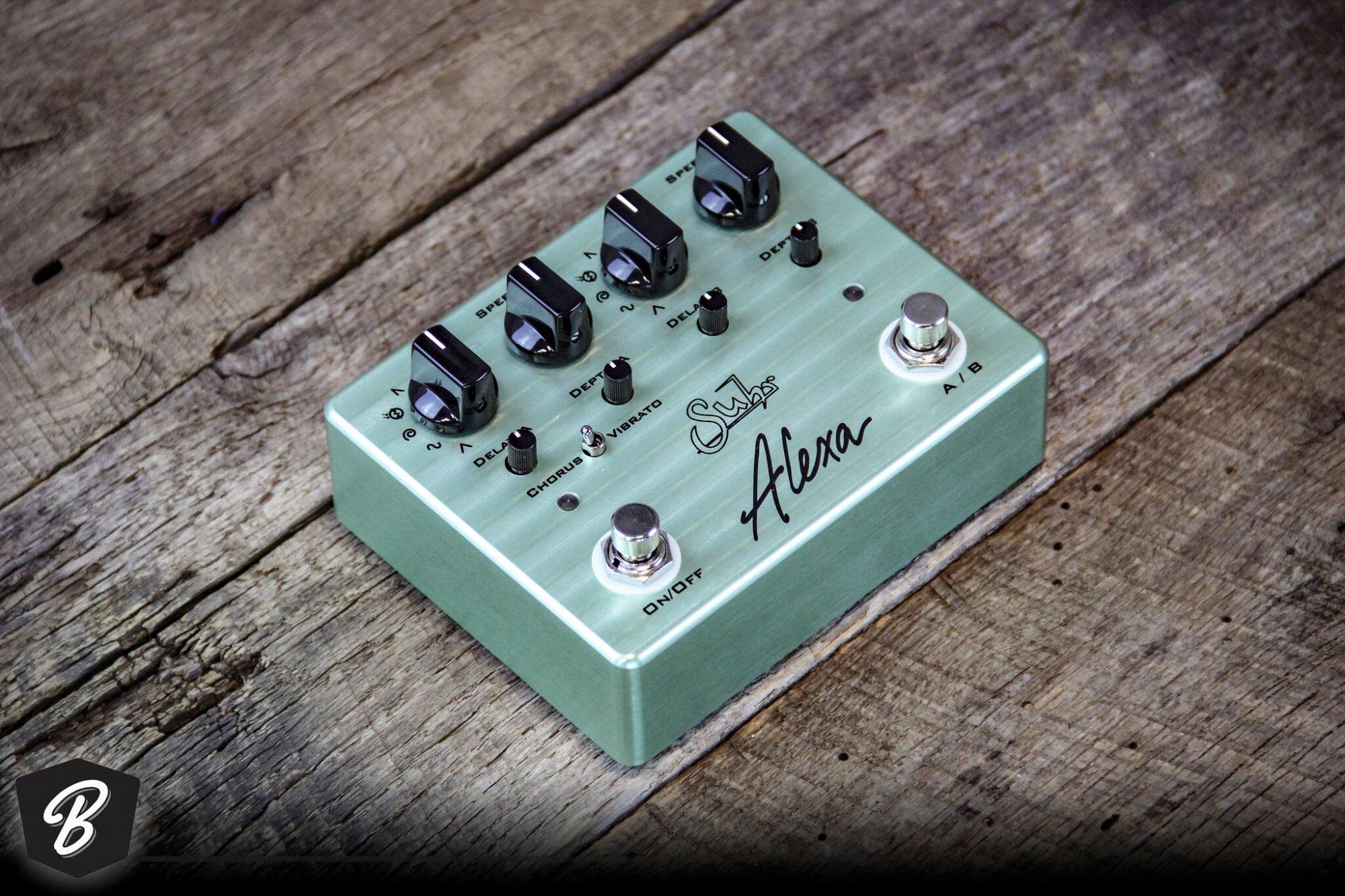 Suhr Alexa Chorus Vibrato Pedal