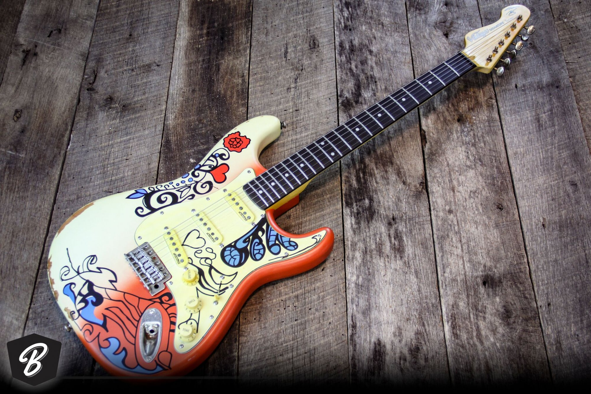 vintage guitars v6mrhdx