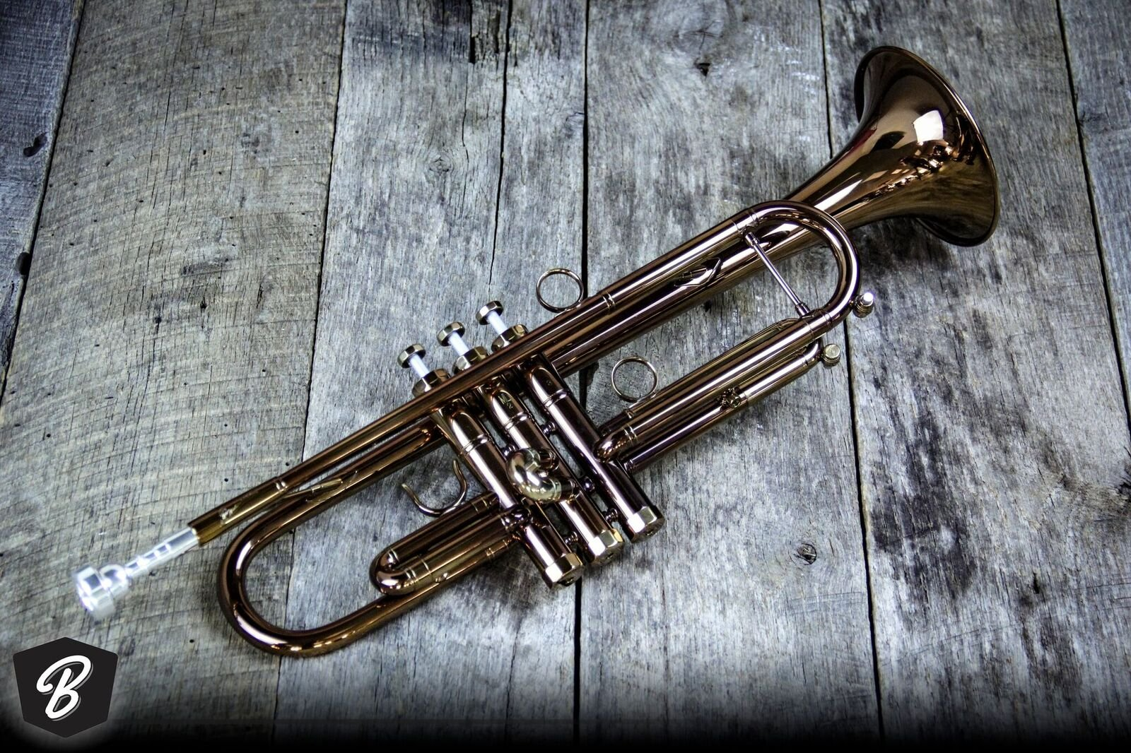 P. Mauriat PM-72-CLX Trumpet in Cognac Finish
