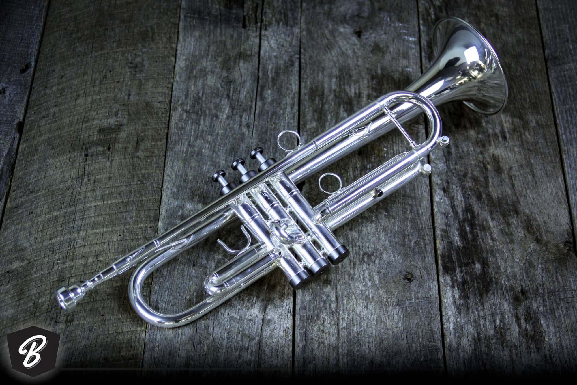 P. Mariaut PMT-71SPX Trumpet in Silver