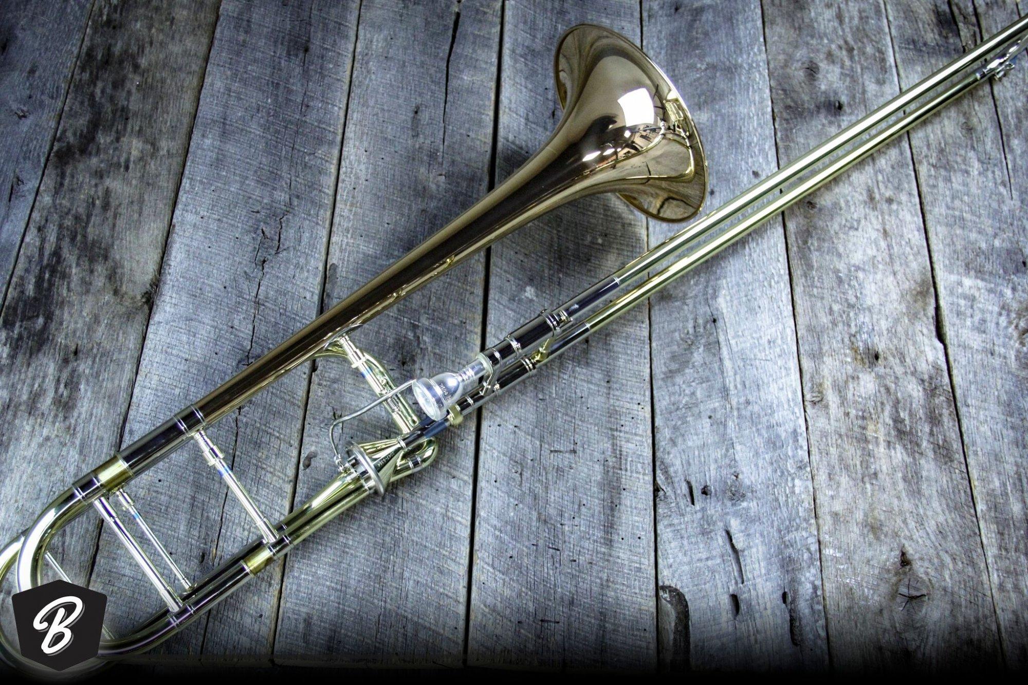 Getzen Custom 3047AFR Trombone w/Axial Flow Valve