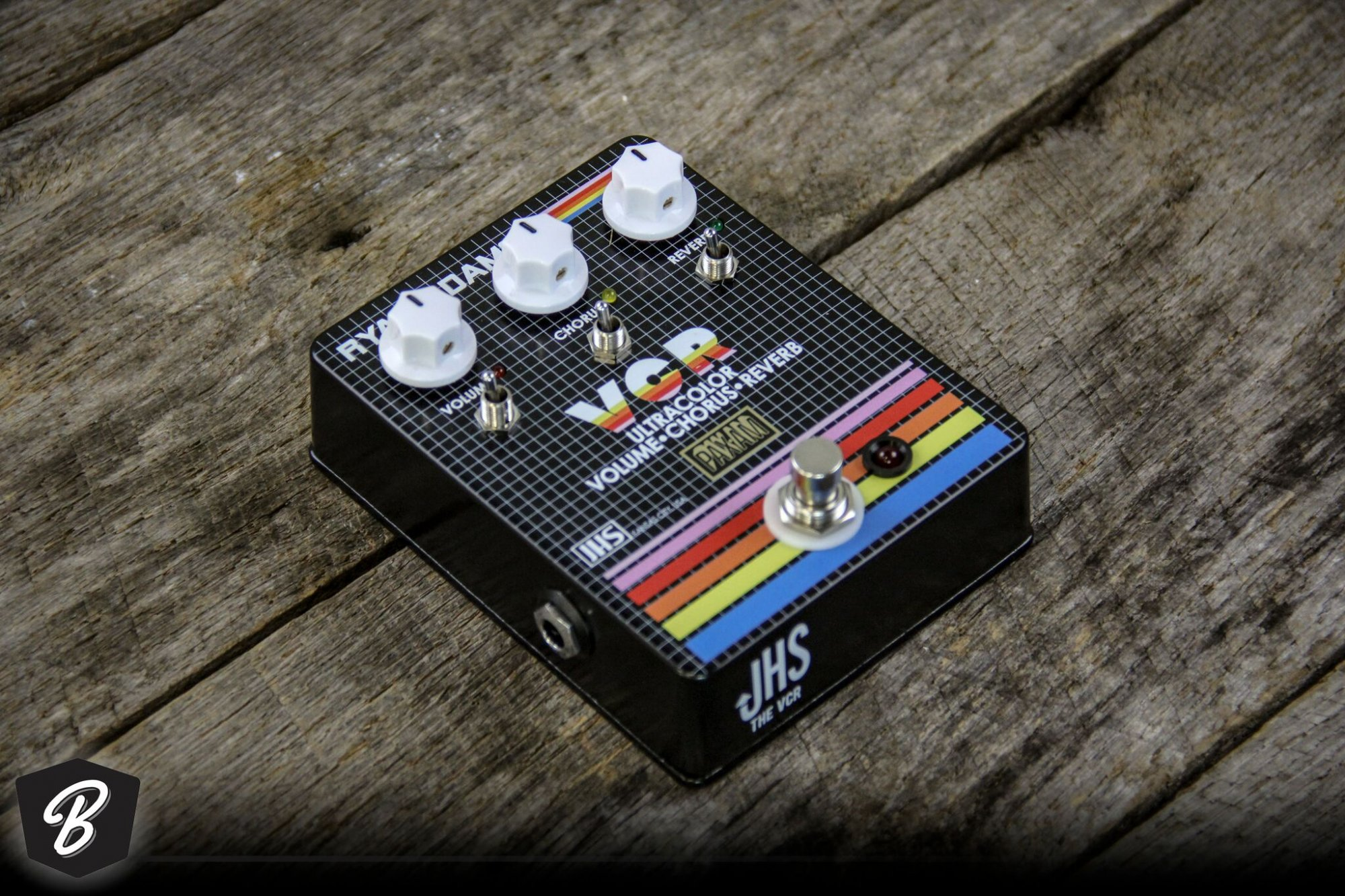 JHS VCR Ultracolor VCR Signature Ryan Adams pedal