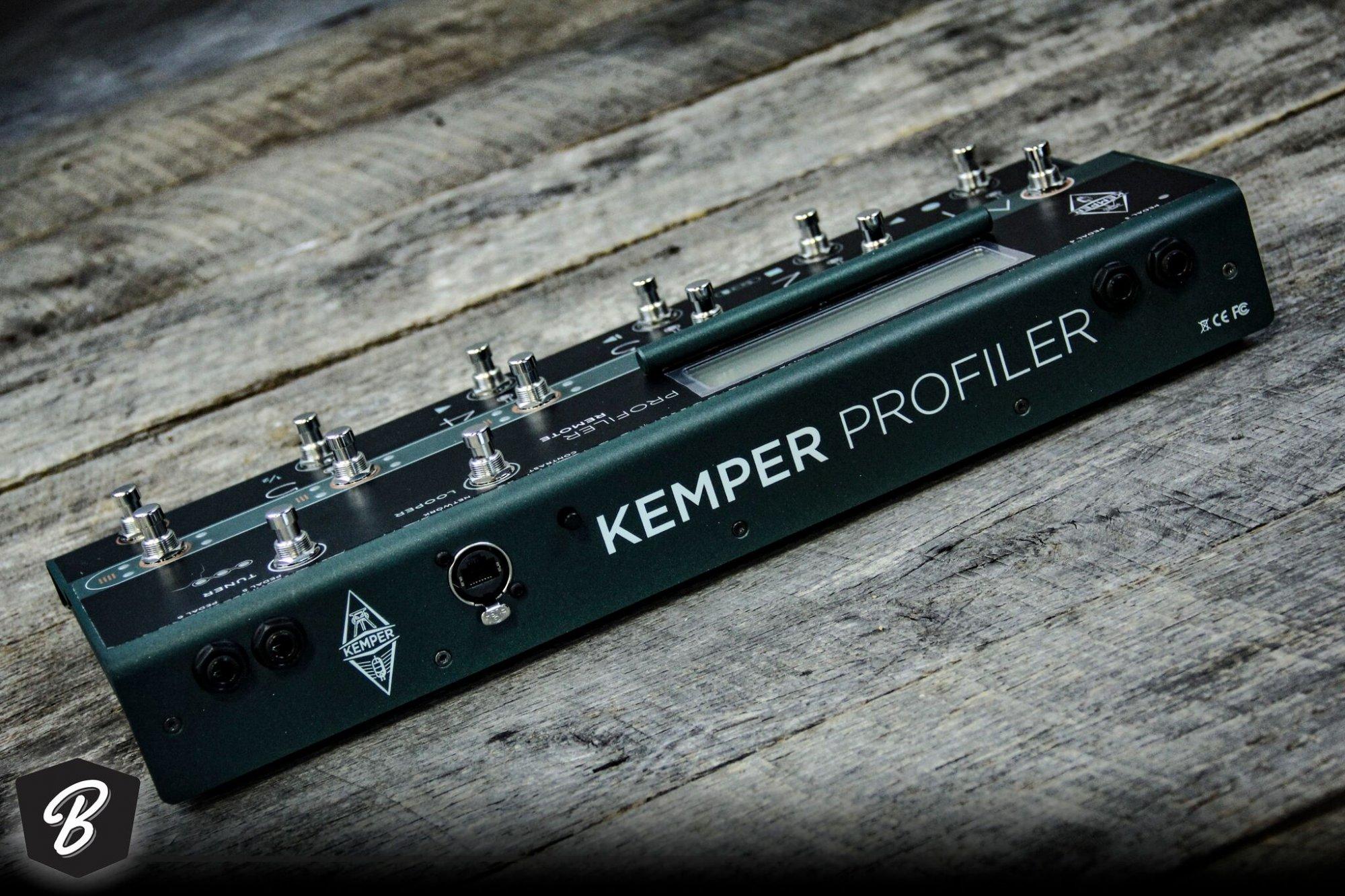 Kemper Profiler Rack With Controller
