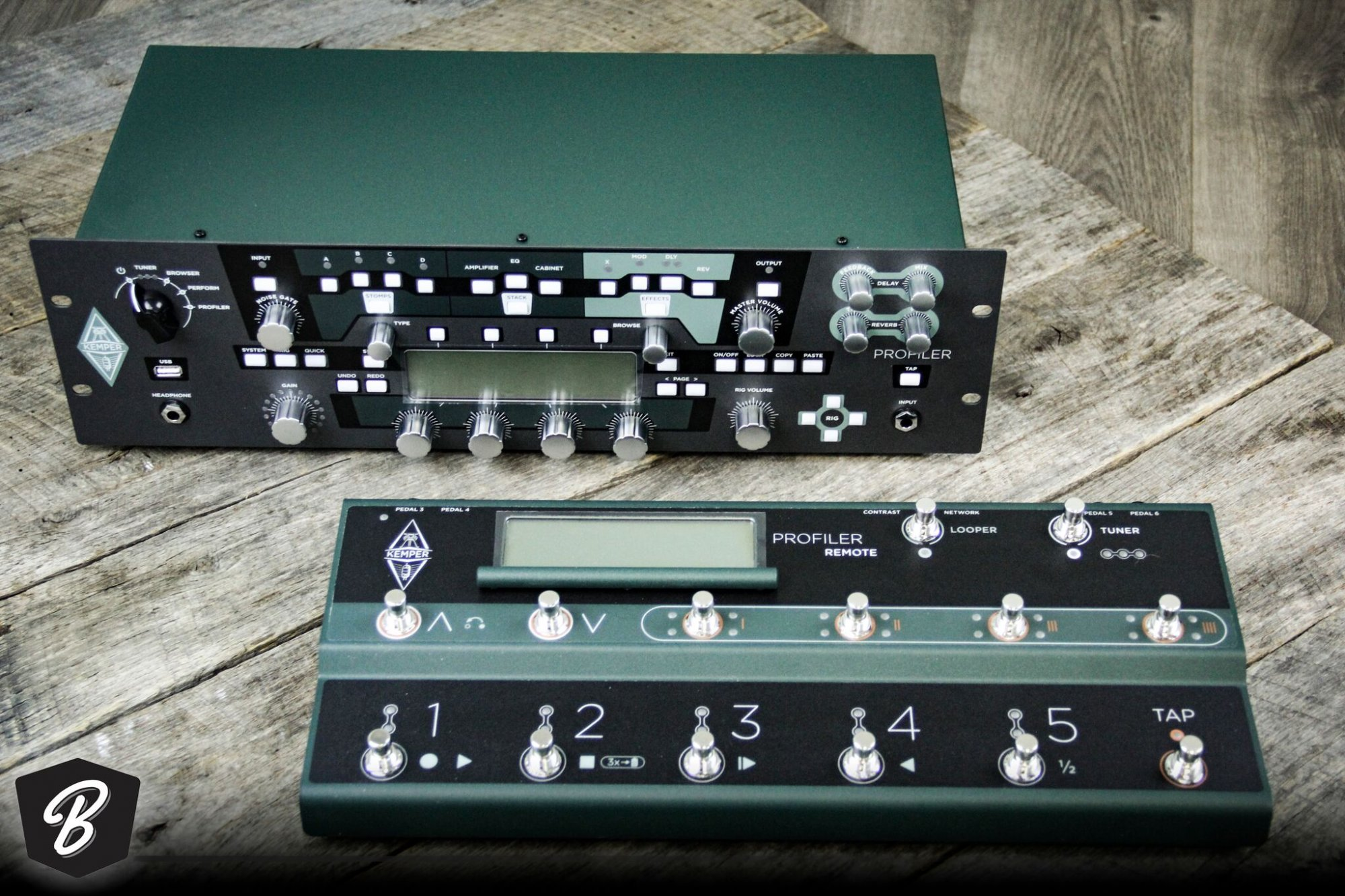 Kemper Profiler Rack With Controller