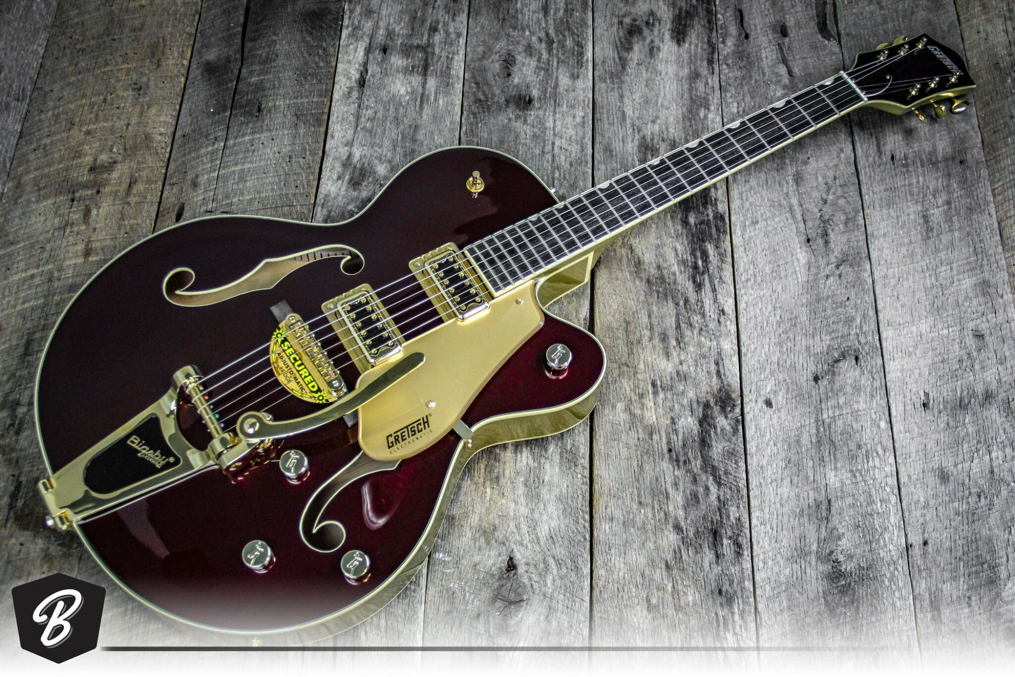 Gretsch G5420TG ELECTROMATIC 135TH ANNIVERSARY LTD HOLLOW BODY SINGLE-CUT WITH BIGSBY