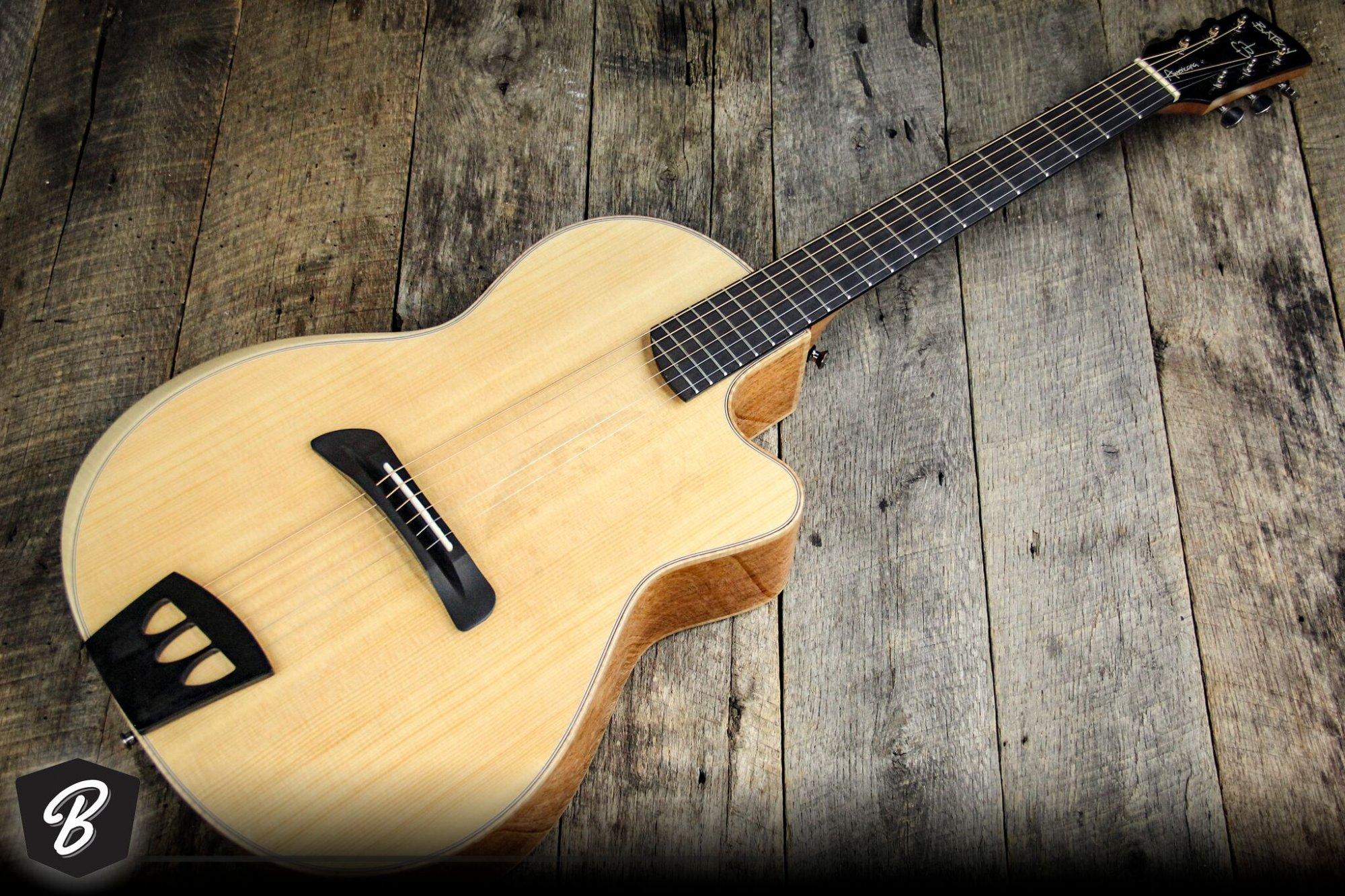 Batson Americana Acoustic Electric Guitar in Gloss Finish w/Hardshell Case