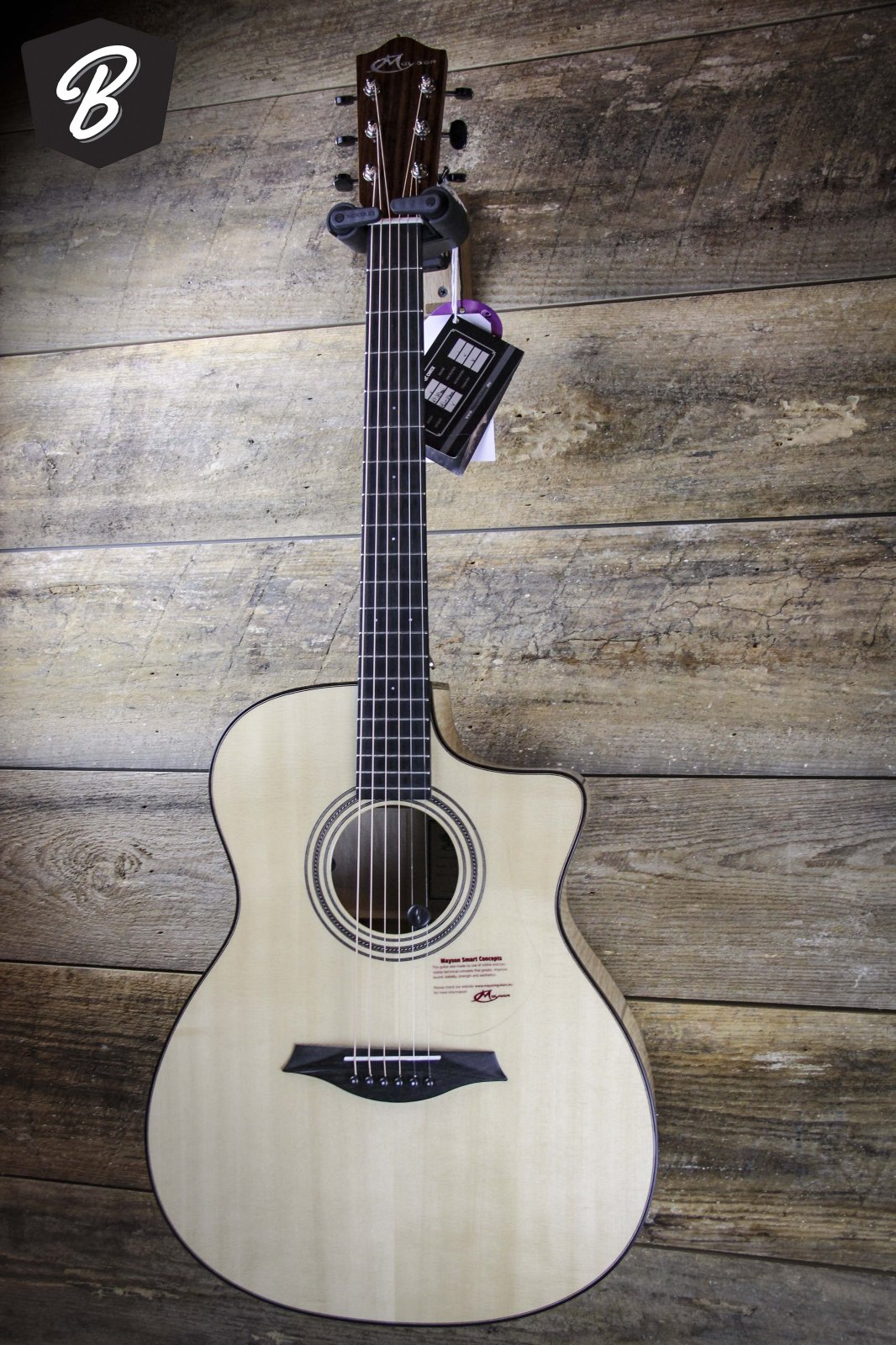 Mayson Acoustic Guitar M7/SCE1