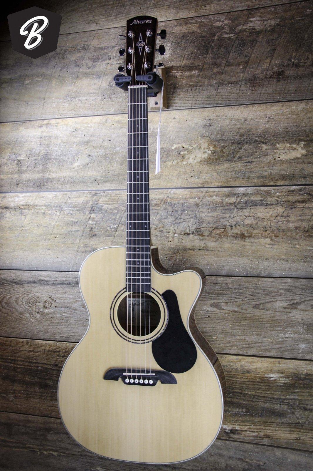 Alvarez RF26ce Acoustic Guitar Natural w/Gig Bag