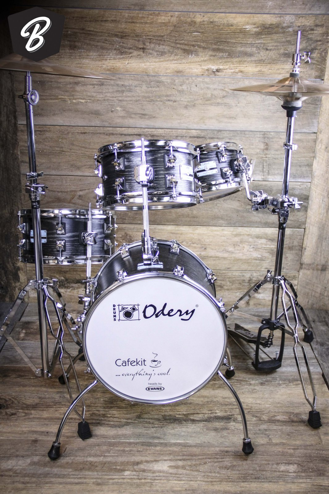 Odery Cafe Kit in Black Ash
