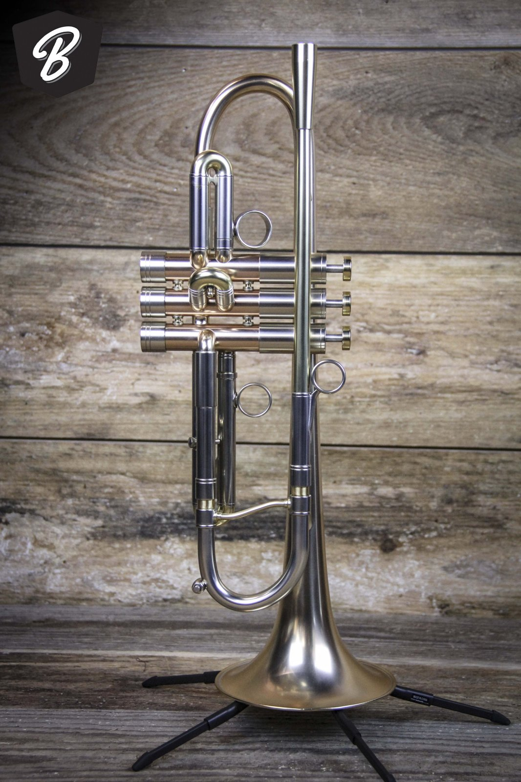 Adams A4 Trumpet in Satin Lacquer