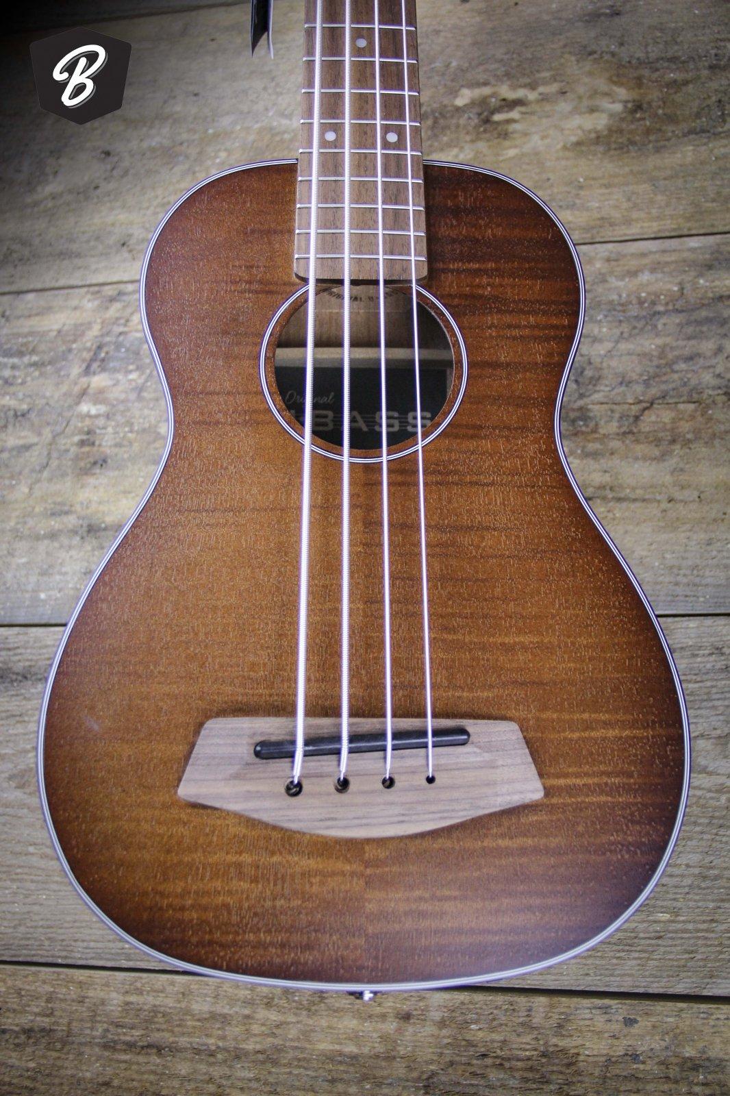 Kala Exotic Mahogany U-Bass Ukulele Bass Fretted Natural