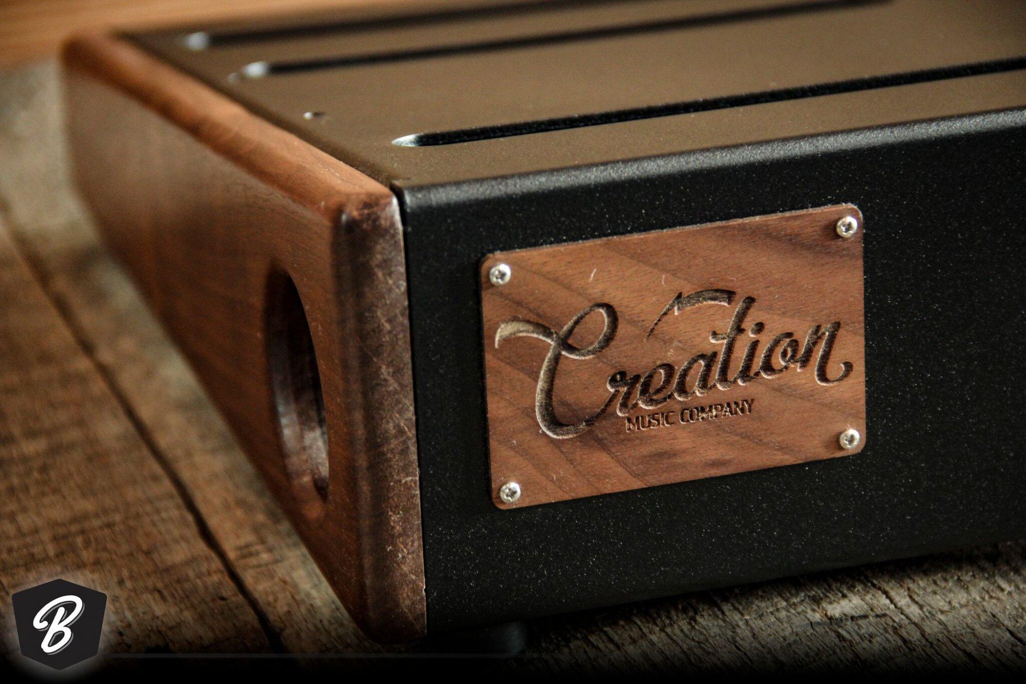 Creation Music Company 17x12.5 Elevation Series Board- Walnut w/ Soft Case