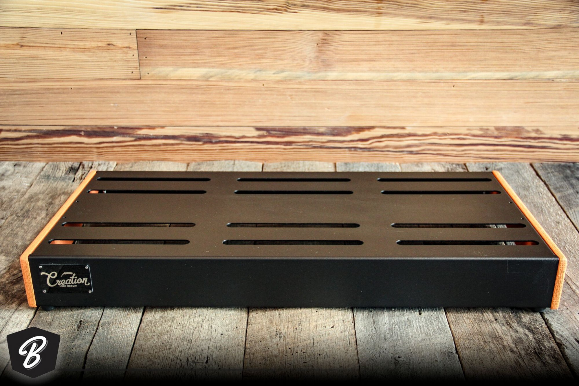 Creation Music Company 32 x 16 Elevation Series Board Orange Nubtex