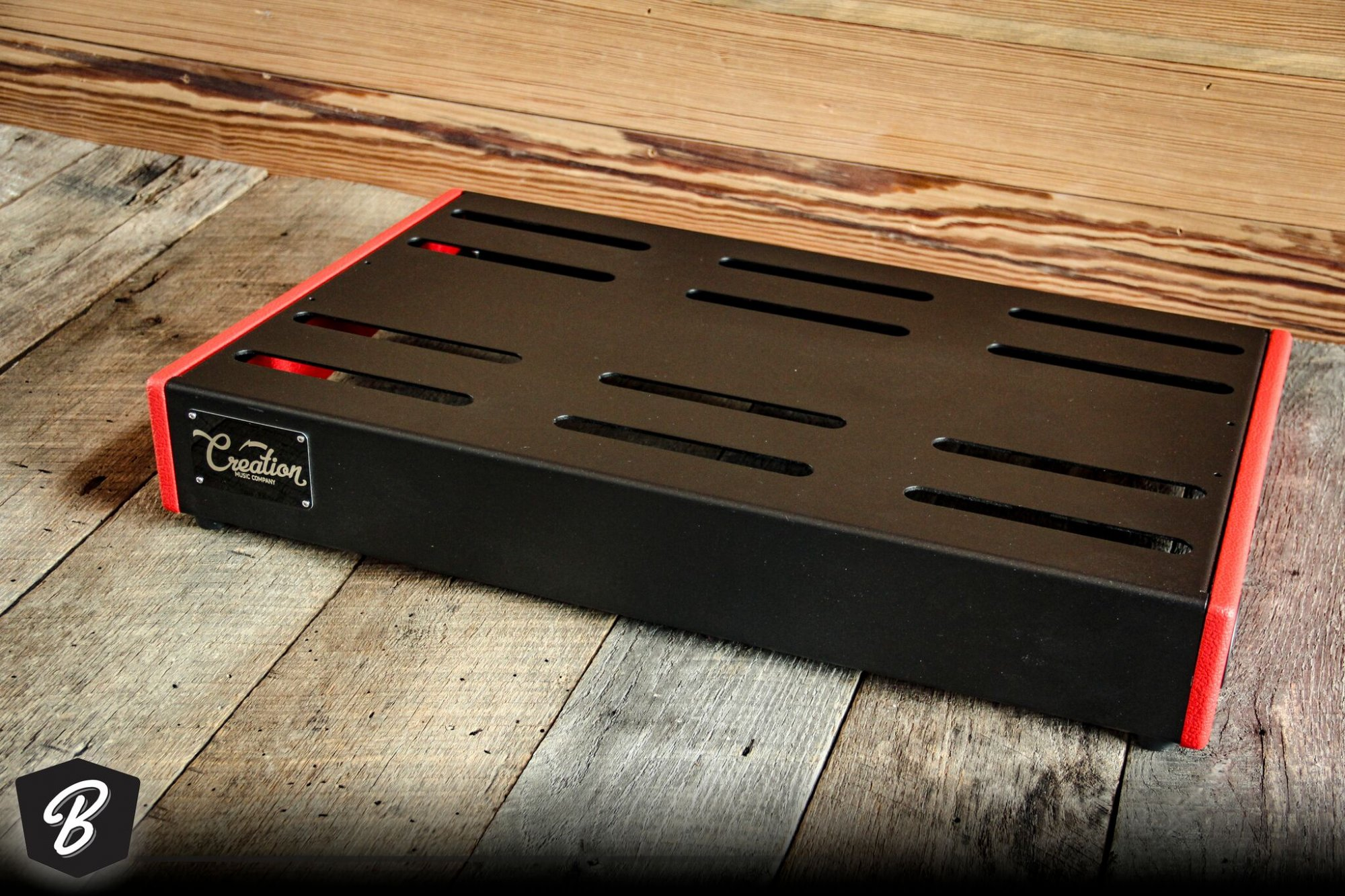 Creation Music Company 32 x 16 Elevation Series Board Red Tolex