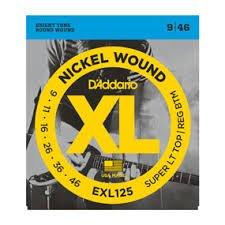 Daddario EXL125 Super Light Guitar Strings