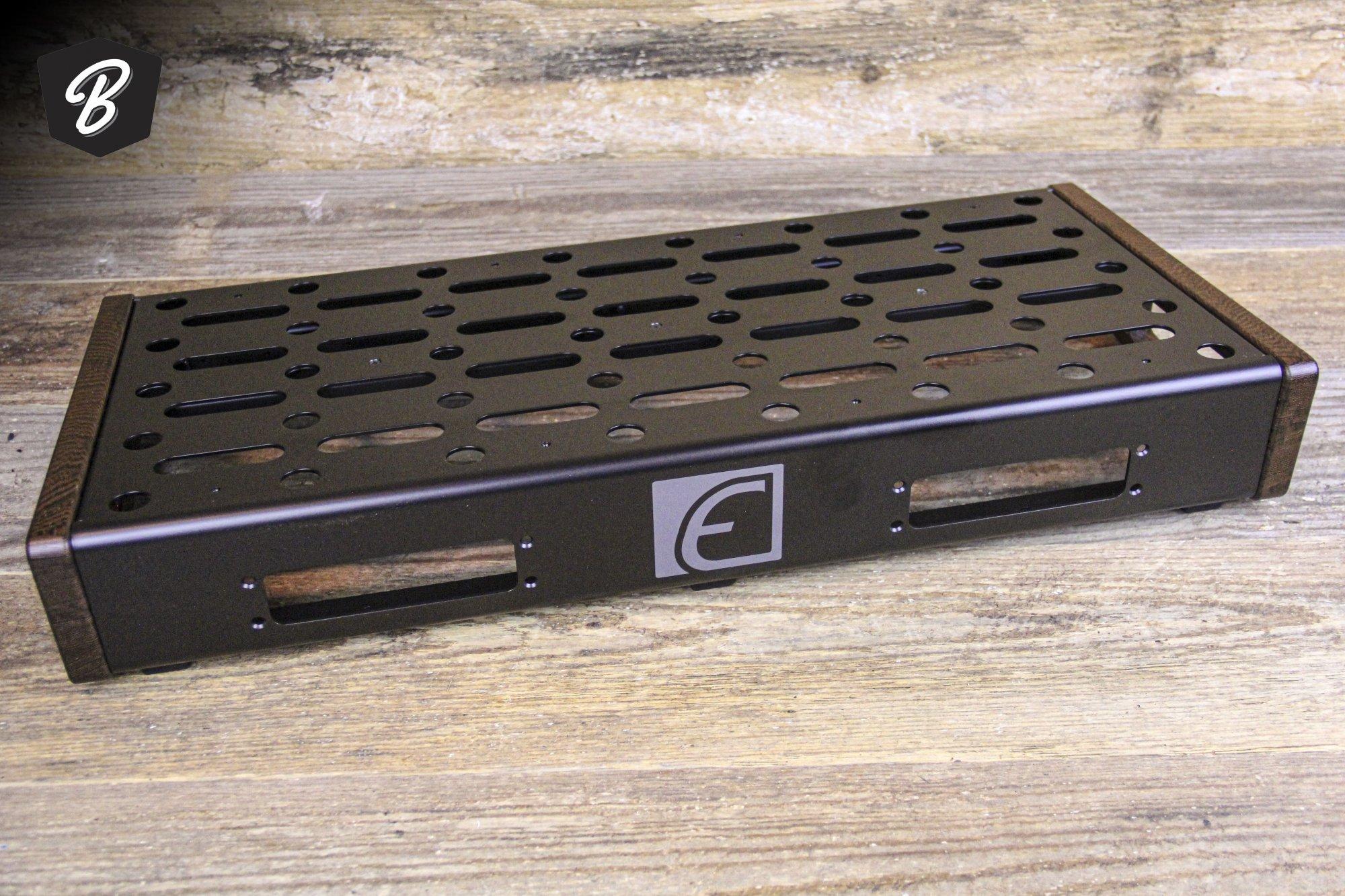 EMERSON - 12X24 PEDALBOARD w/Custom Wenge Sides - MEDIUM
