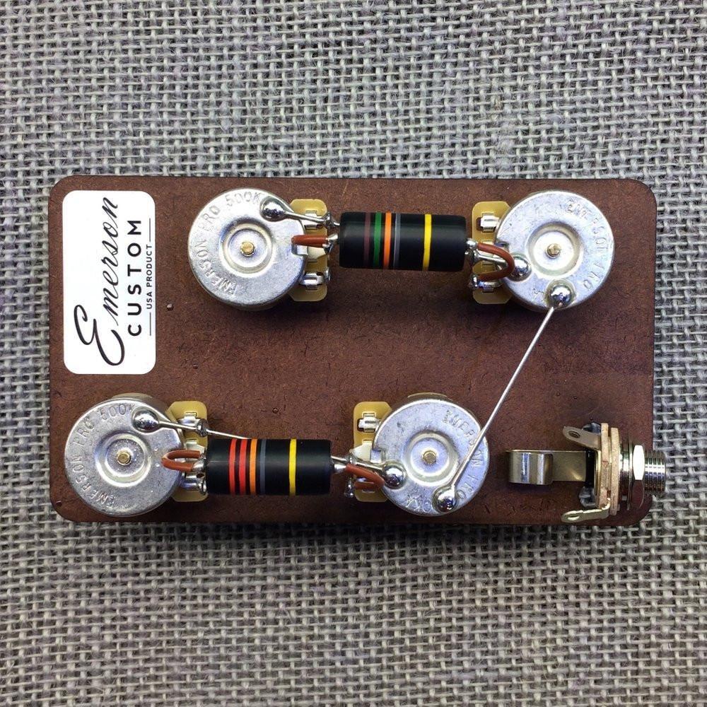 Emerson Custom Prewired Kit Les Paul-Long Shaft