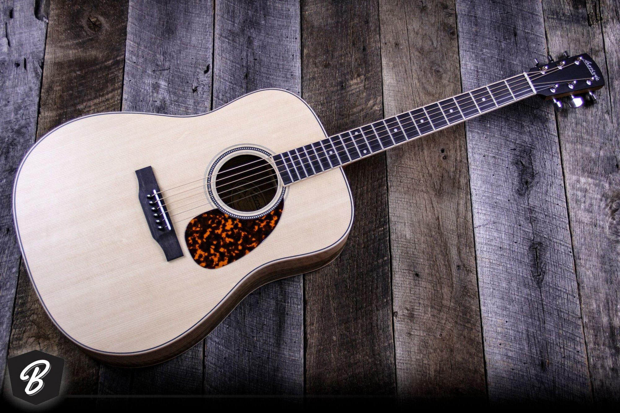 Larrivee D03FW0 Austrian Walnut Acoustic Guitar w/Case