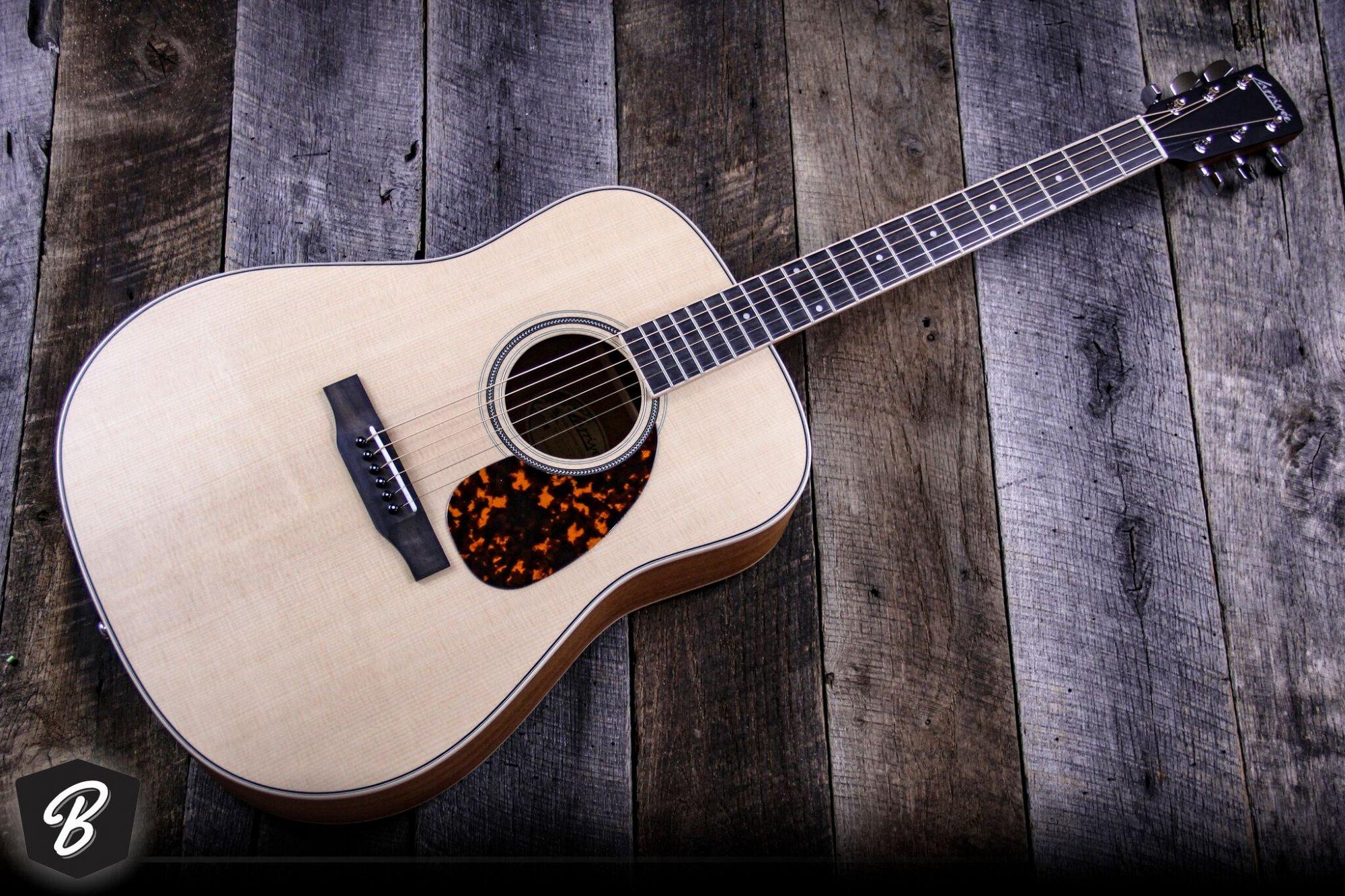 Larrivee D-03 Mahogany Standard Acoustic Guitar w/Case